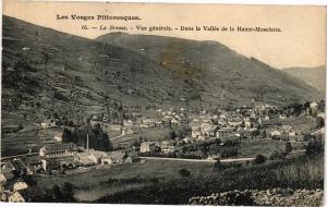 CPA Les Vosges Pittoresques LA BRESSE Vue générale Dans la Vallée . (200234)
