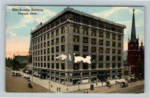 Dayton OH, Rike-Kumler Building, Vintage Ohio c1915 Postcard