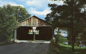 VT - Middlebury. Pulp Mill Bridge