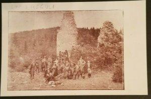 1926 Mint Vintage Hungary Boy Scout Troop Lapis Reguli Photogaph Print Postcard
