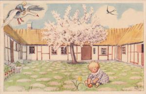 AS: Gasa, Gasa Klinga Sakura, goose, Elsa-Beskow-Kort, PU-1967