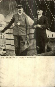 Pioneer Aviation Hot Air Balloon Pilot Erbsloh & Clayton of Pommern St. Louis?