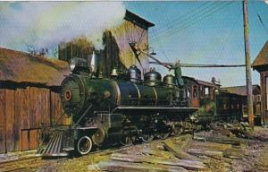 East Broad Top Railroad Locomotive #12 Rockhill Furnace Pennsylvania