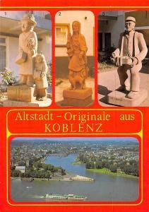 Altstadt Originale aus Koblenz, Da Spitals Andun Da lange Gummi Statues