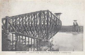 QUEBEC , Canada , 1900-10s ; Quebec Bridge Construction #3