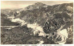 USA Angeles Crest Highway To Mt. Wilson California 04.96