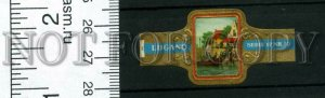 500044 SWITZERLAND LUGANO Vintage embossed cigar label