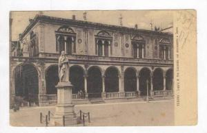 Loggia Di Fra Giocondo, Col Monumento A Dante, Verona, Italy, PU-00-10s