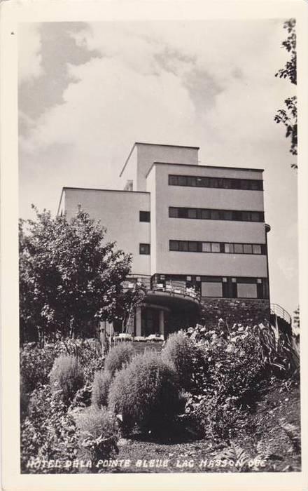 RP, Hotel De La Pointe Bleue, Lac Masson, Quebec, Canada, 1920-1940s