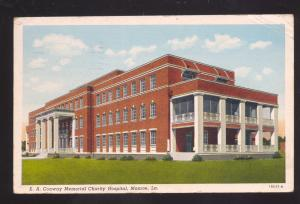 MONROE LOUISIANA EA CONWAY MEMORIAL CHARITY HOSPITAL OLD POSTCARD