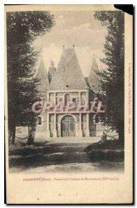 Postcard Old Radepont Eure Chateau du Portail Bonnemare