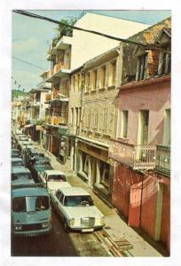 Rue Victor Hugo, Fort de France, Martinique, French West Indies, 40-60s