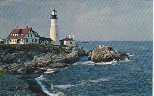 U S Coast Guard Portland Head Lighthouse and Station 1965