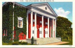 Virginia Roanoke The Little Theatre Hollins College
