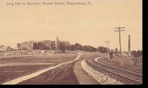 Pennsylvania Shippensburg Long Path To Education Normal School