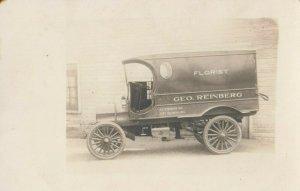 RP: CHICAGO , Illinois, 1900-10s ; Geo. Reinburg , Florist Truck
