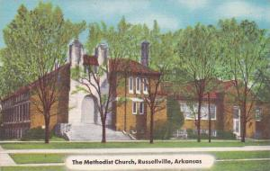 Exterior, The Methodist Church,  Russellville,  Arkansas,   30-40s