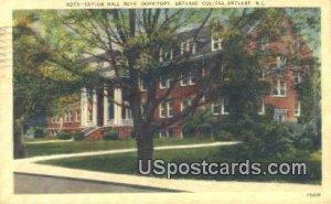 Taylor Hall Boys Dormitory, Brevard College in Brevard, North Carolina