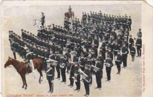 Canada Montreal Mount St Louis Cadets & Military Band 1905