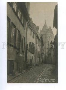 162130 Latvia RIGA Old Town shoemaker Vintage photo PC