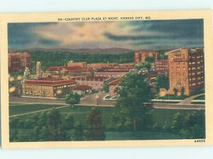 Linen PANORAMIC VIEW Kansas City Missouri MO AF0588