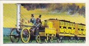 Brooke Bond Tea Vintage Trade Card Transport Through The Ages 1966 No 18 Step...