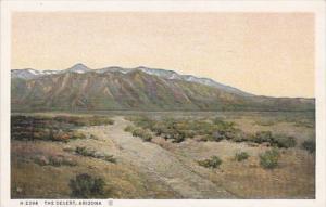 Arizona Desert Scene Fred Harvey