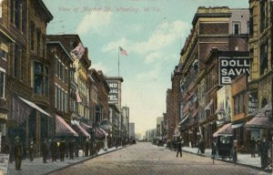 WHEELING , West Virginia, 1909 ; Market Street