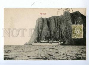192364 NORWAY NORTH Nordkap ship Vintage postcard