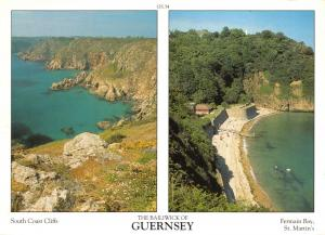 Guernsey Postcard Channel Islands Multi View by D.R Photography Ltd P14