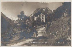 Grand Hotel Gietroz et Terminus Pres Finhaut Swiss Postcard