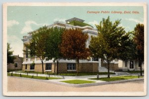 Enid Oklahoma~Carnegie Public Library~Independence Avenue~Demolished 1972~1920s