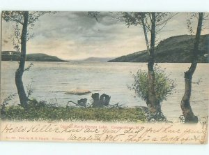 Pre-1907 LAKE SCENE Cooperstown - Near Oneonta New York NY AE5398
