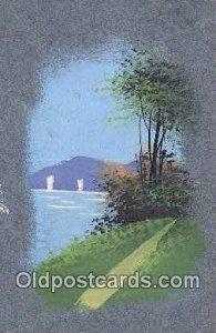Artist Meschini? Artist Signed 1910 postal used 1910