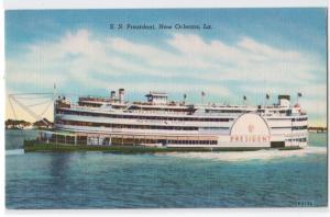 SS President, New Orleans LA