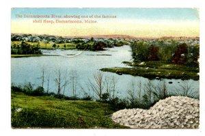 ME - Damariscotta. Damariscotta River, Shell Heap