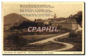 Old Postcard Milly-Lamartine The Monsard