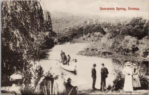 Hamurana Springs Rotorua New Zealand Jas McFarlane Postcard E45