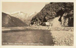 RP: Richardson Highway , Alaska , 1940s ; Valdez-Fairbanks Stage