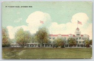 Jefferson Massachusetts~Mt Pleasant House Hotel~Das Ist Ein Schoons Place~1913