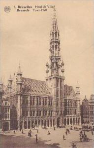 Belgium Bruxelles Hotel de Ville Town Hall