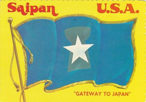 Saipan Flag The Gateway To Japan