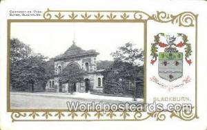 United Kingdom, UK, England, Great Britain Corporation Park Gates Blackburn B...