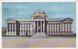 Colorado Puebio County Court House 1925