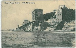 CARTOLINA d'Epoca: ROMA - ANZIO 1911