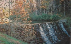 A Beautiful Dam at Otter Creek in the Scenic Blue Ridge Mountains,  Bedford, ...