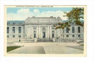 Entrance To Bancroft Hall, Annapolis, Maryland, 1900-1910s