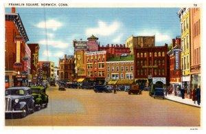 Connecticut  Norwich ,  Franklin Square