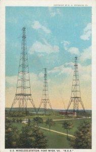 FORT MYER , Virginia , 00-10s; U.S. Wireless Station # 3; N.A.A.