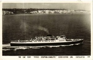 CPA AK The Car Ferry 'Prinses Josephine Charlotte' SHIPS (762608)